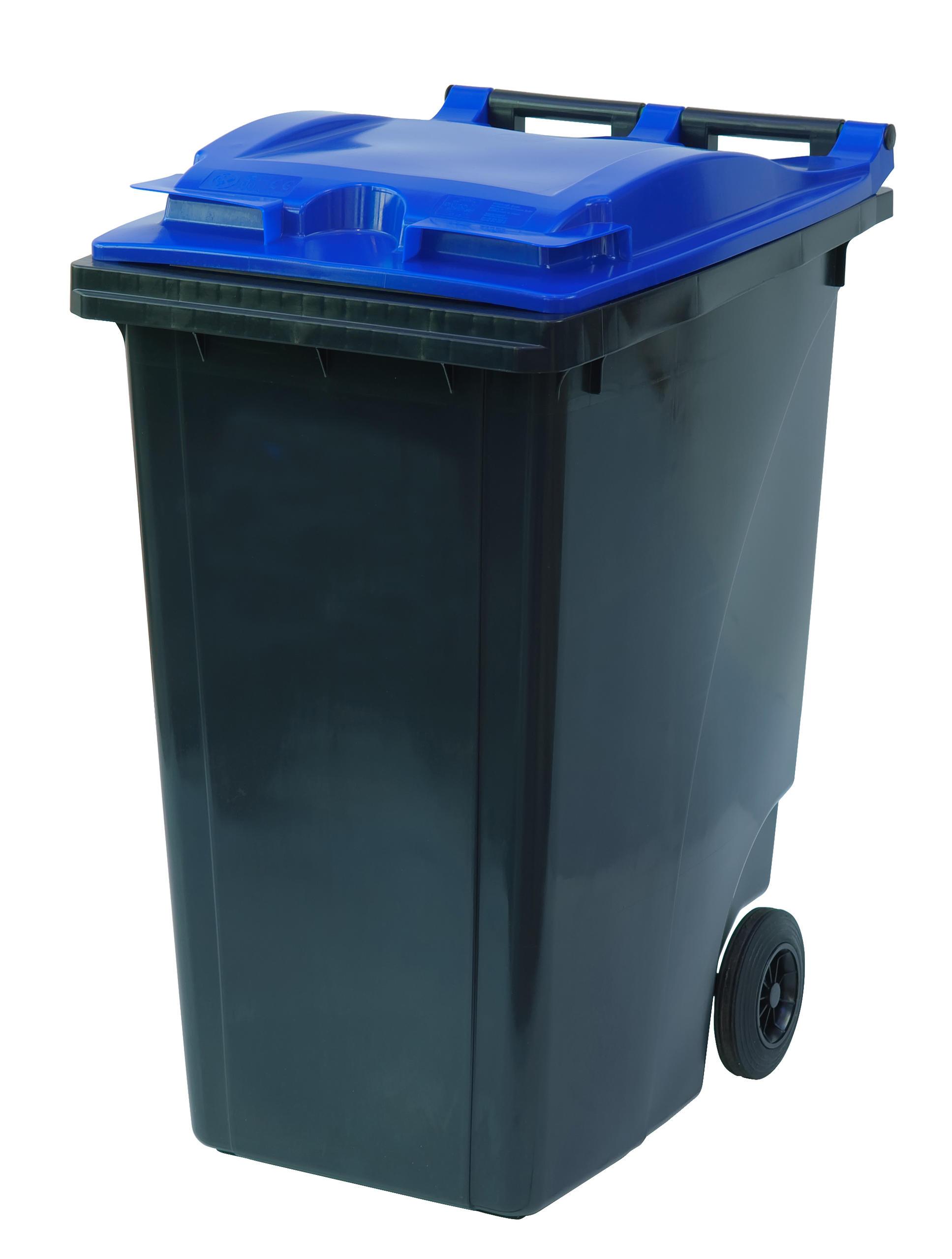 360 Liter Avfallsbeholder / Avfallsbeholder Med 2 Hjul